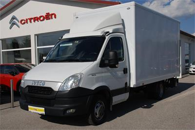 Iveco Daily 35 C 15 Koffer Ladebordwand