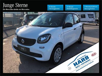 Smart forfour twinamic