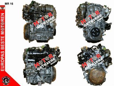 Motor NEU Nissan Qashqai 1.6 DIG-T 139 KW - Bj. 2016 - MR16 - 0 KM