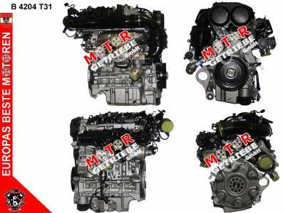 Motor gebraucht Volvo V90 2.0 T4 140 KW - Bj. 2019 - B4204T31 -