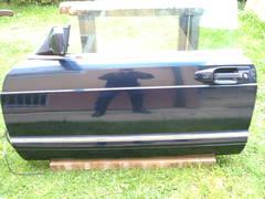 Fahrertüre inkl. Fensterheberschalter und Scheibe