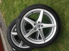 Original Audi A5 Felgen + Reifen zu verkaufen